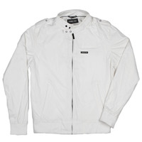 Nylon Racer Jacket | Racer Jacket | Members Only Jacket | Members Only | Official Online Store