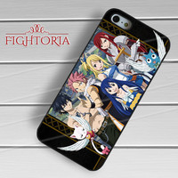 Fairy Tail All Characters -S44rw for iPhone 4/4S/5/5S/5C/6/6+,samsung S3/S4/S5/S6 Regular/S6 Edge,samsung note 3/4