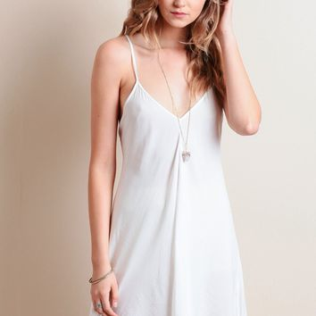 Blowing Kisses Slip Dress