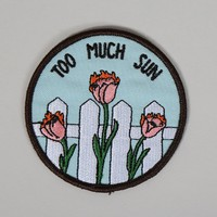 Rosehound Apparel Too Much Sun Patch - Everything - Categories - Womens