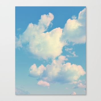 The Colour of Clouds 04 Canvas Print by NaturalColors
