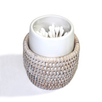 "Toothbrush Holder Round WVR - WW 3x3.25""H.."