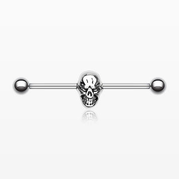 Skull Fury Industrial Barbell