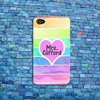Cute 5 SOS Michael Clifford Funny Pink Heart Phone Case iPhone 4 4s 5s 5c 6 iPod