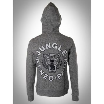 Kenzo - JUNGLE TIGER HOODIE JACKET - Elite Store