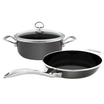 Chantal Copper Fusion Cookware Set (3 Pc.)