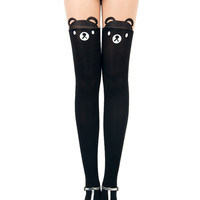 Bear Over-the-Knee Tights