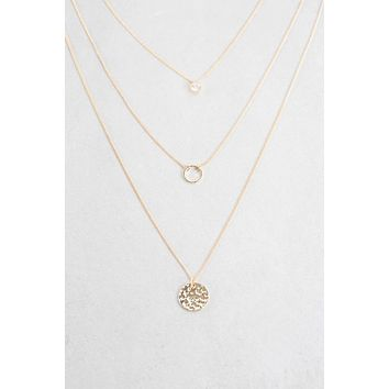 Gia Goddess Layered Necklace