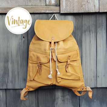 Wyoming Sky Vintage Backpack