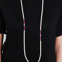 The Dani Necklace - Peach/Pink