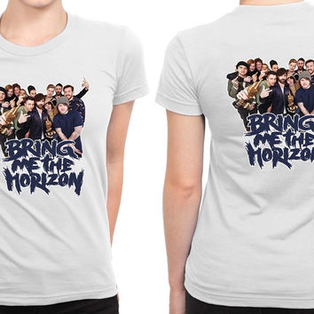 Bring Me To The Horizon Bmth (8) B 2 Sided Womens T Shirt