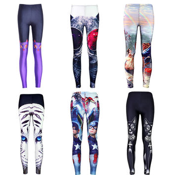 Womens Trendy Hip Stylish Print Leggings
