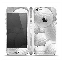 The Golf Ball Overlay Skin Set for the Apple iPhone 5