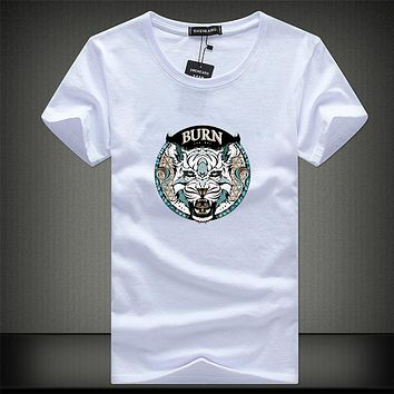 Men's Short Sleeve t-shirts Tee Shirts Men Summer Male T shirt Home
