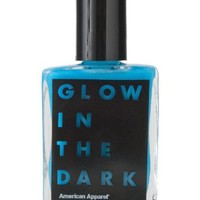 American Apparel Glow in the Dark Nail Polish - Moon / One Size