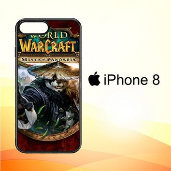 World of Warcraft Guardian Druid Mists of Pandaria Z0652 iPhone 8 Case