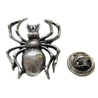 Detailed Spider Insect Lapel Pin