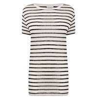 Striped Short Sleeve T Shirt