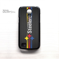 Pittsburgh Steelers Carbon 3 Stripe For Samsung Galaxy Mini S3/S4/S5 Phone case ZG
