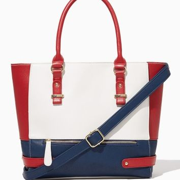 Bridgeport Colorblock Tote | Fashion Handbags - Modern Americana | charming charlie