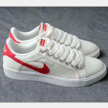 One-nice™ NIKE air jordan sky high OG Sports Shoes white -red hook H-PSXY