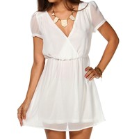 Short Sleeve Wrap Tunic