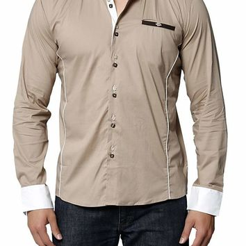 Young Republic Khaki America Button-Up