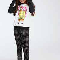 Spongebob Graphic Raglan Sweatshirt (Kids)