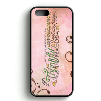 Happy Thankful Appreciaton iPhone 5 | 5S Case