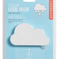 Kikkerland 'Cloud' USB Hub - White