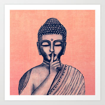 BuDDha  Art Print by Vanya