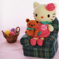 Japanese Amigurumi Hello Kitty and Friends Instant by LuckyKorat