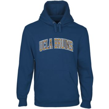 UCLA Bruins Secondary Traditional Arch Pullover Hoodie - True Blue