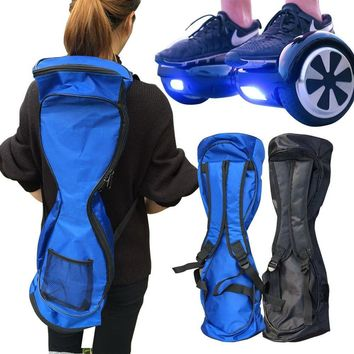 new portable 6 5 8 10 inches hoverboard backpack shoulder carrying bag for 2 wheel electric self balance scooter travel knapsack