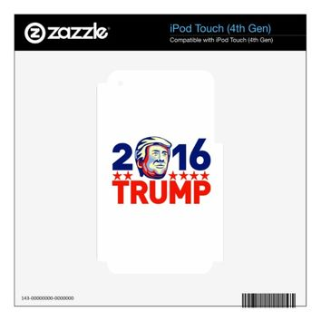 Donald Trump 2016 President Retro Skin For iPod Touch 4G