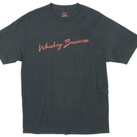 WHISKEY BUSINESS graphic tee by Altru Apparel