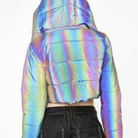 Night Savage Signalz Reflective Jacket