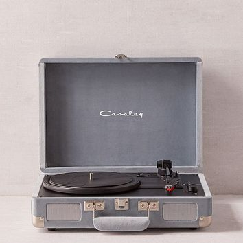 Crosley Seafoam Velvet Cruiser Bluetooth Record Player | Urban Outfitters