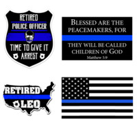 Bundle for Retired LEO. Support Thin Blue Line