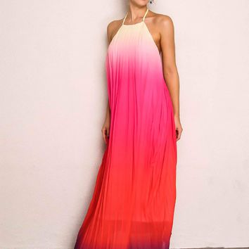 Shenandoah Ombre Maxi Dress