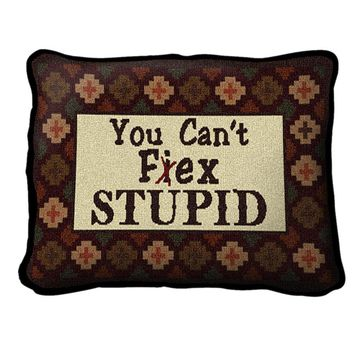 Pure Country Weavers Home Decor Southwest Can't Fix Stupid Pillow