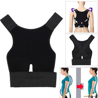 Men's Women's Adjustable Breathable Posture Correction Belt Posture Support In Stock Fast Ship