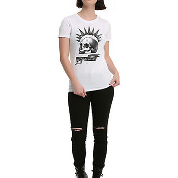 Life Is Strange Chloe Price Misfits Skull Cosplay Girls T-Shirt