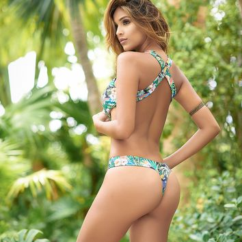 Tropical Thong Monokini