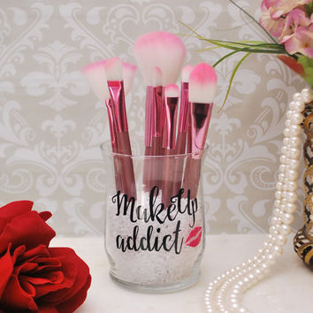 Makeup Organizer, Makeup Brush Holder, Brush Holder, Desk Organizer, Pen Holder, Pencil Holder -  Makeup Addict
