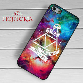 Zelda triforce galaxy triangles sign -E3N for iPhone 6S case, iPhone 5s case, iPhone 6 case, iPhone 4S, Samsung S6 Edge