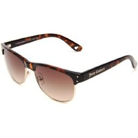 Juicy Couture Women`s Epic/S Cat Eye Sunglasses,Brown Frame/Brown Gradient Lens,One Size