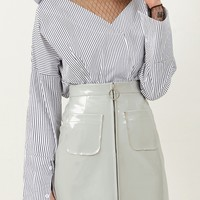 Izabel Pocket Skirt Discover the latest fashion trends online at storets.com