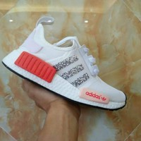 Best Deal Online Adidas Boost NMD R1 PK W Women Men Running Shoes BY9952
