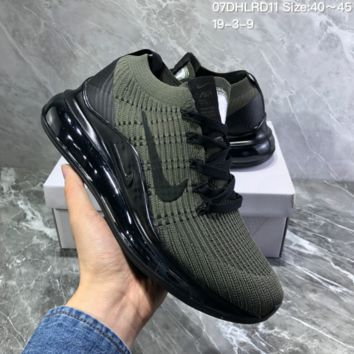 DCCK2 N968 Nike Vapormax 2019 Mesh Knit Air Cushion Shock Running Shoes Green